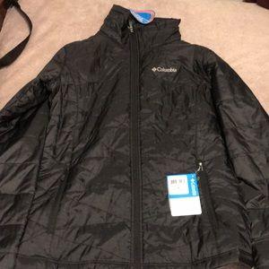 Columbia jacket no hoodie